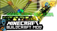 Mod BuildCraft for Minecraft 1.15/1.12.2