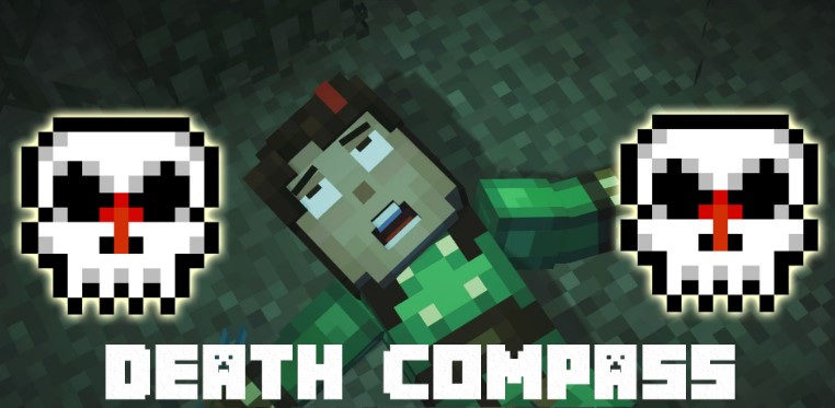 Mod Death Compass for Minecraft 1.13.2/1.12.2