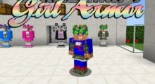 Mod Girl Armor for Minecraft 1.15/1.14.4