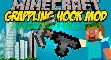 Mod Grappling Hook for Minecraft 1.13.2/1.12.2