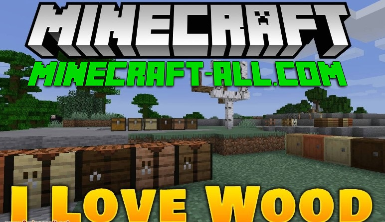 I Like Wood mod Minecraft
