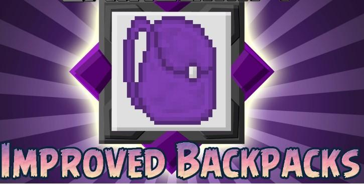 Mod Improved Backpacks for Minecraft 1.13.2/1.12.2