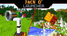 Mod Jack O' Launcher for Minecraft 1.14.4/1.13.2