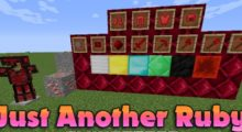 Mod Just Another Ruby for Minecraft 1.15/1.14.4