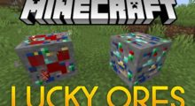 Mod Lucky Ores for Minecraft 1.14.4