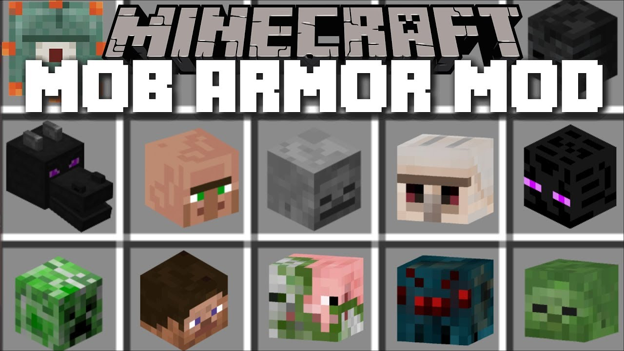 Mod Mob Armor for Minecraft 1.15/1.12.2