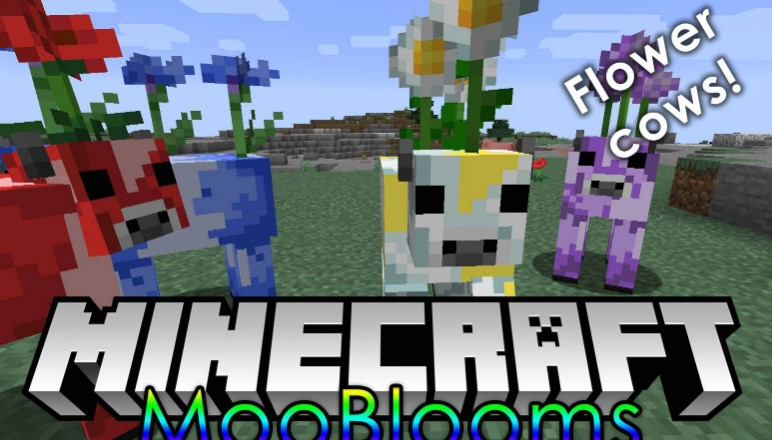 Mod Mooblooms Mod for Minecraft 1.15/1.14.4
