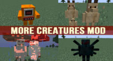 Mod More Creatures for Minecraft 1.12.2