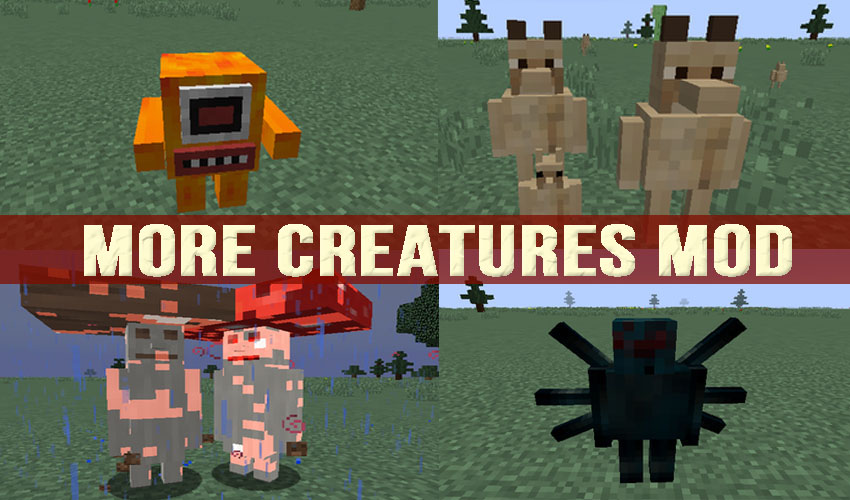 More Creatures minecraft mod