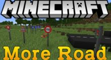 Mod More Road for Minecraft 1.12.2