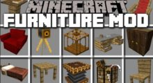 Mod MrCrayfish's Furniture for Minecraft 1.14.4/1.13.2/1.12.2