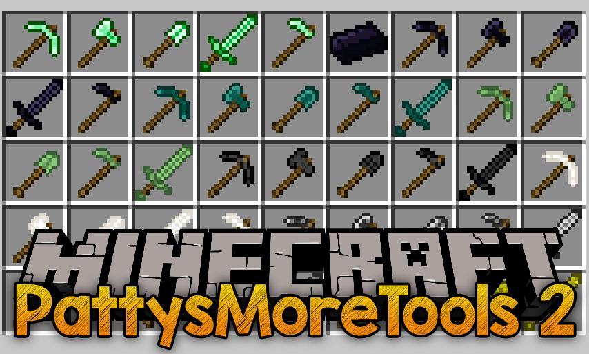 PattysMoreTools 2 Mod