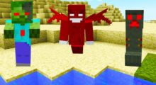 Mod Red Mobs (Redstone Mobs!) for Minecraft 1.12.2