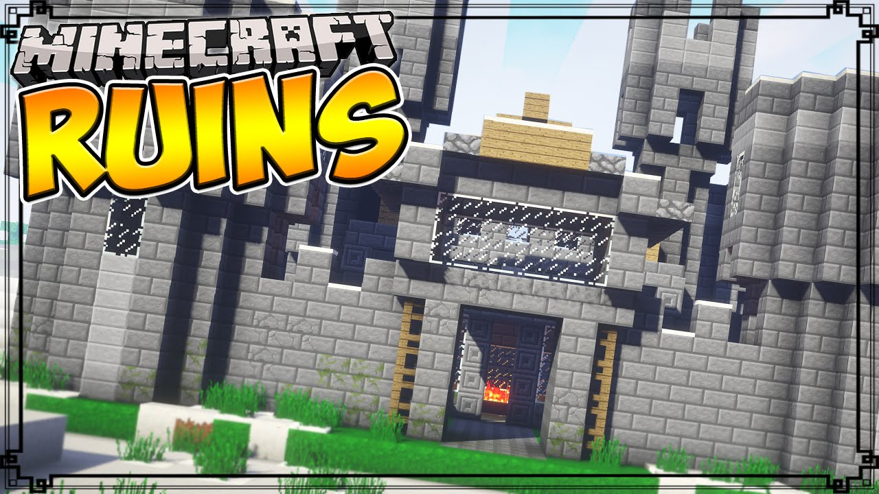 Mod Ruins (Dungeon generation) for Minecraft 1.15/1.14.4/1.14