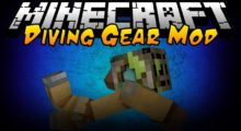 Mod Simple Diving Gear for Minecraft 1.15/1.14.4
