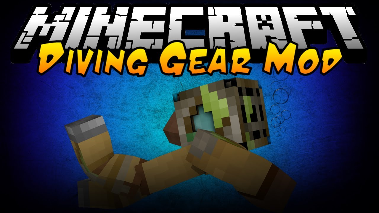 Simple Diving Gear Minecraft mod
