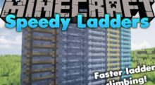 Mod Speedy Ladders for Minecraft 1.14.4/1.12.2