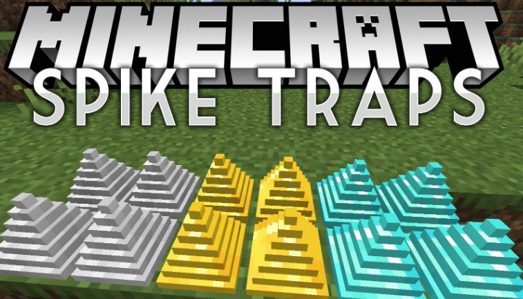 Mod Spike Traps for Minecraft 1.15/1.14.4