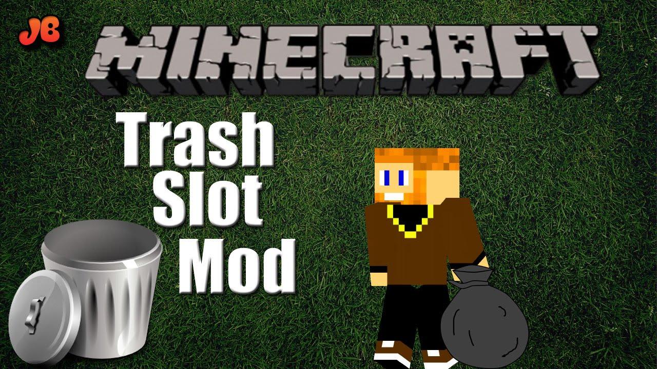 Mod TrashSlot for Minecraft 1.14.4/1.14
