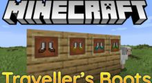 Mod Traveller's Boots for Minecraft 1.14.4/1.12.2