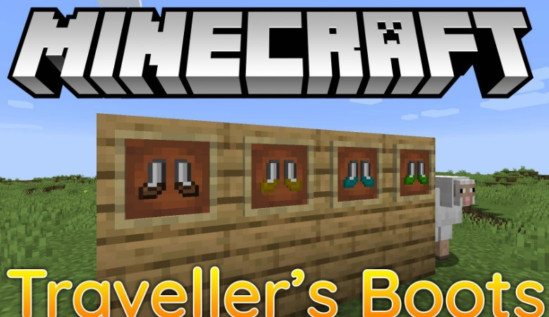 Traveller's Boots Minecraft mod