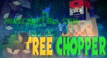 Mod Tree Chopper for Minecraft 1.15/1.14.4/1.14