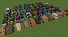 Mod Ultimate Car (Roads and transport) for Minecraft 1.14.4/1.12.2