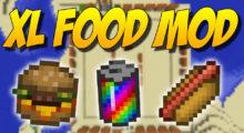 Mod XL Food for Minecraft 1.14.4/1.12.2