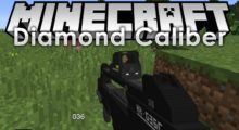 Mod Diamond Caliber for Minecraft 1.13.2/1.12.2