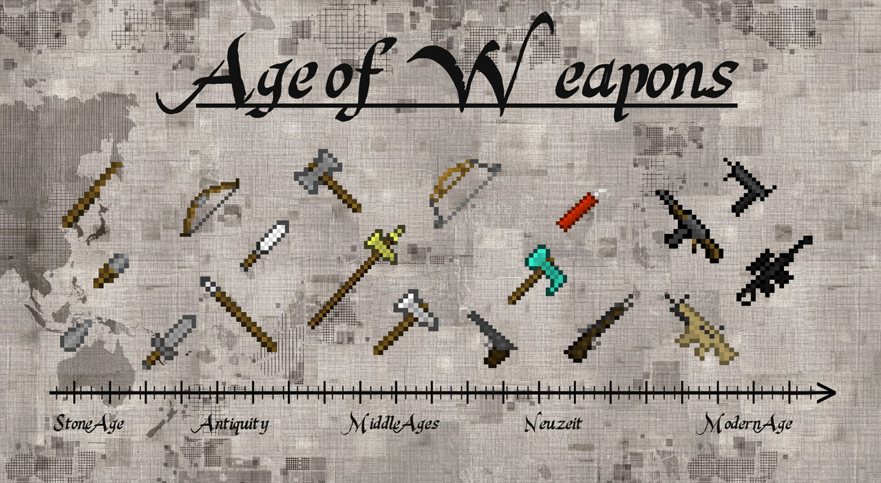 Age of Weapons for Minecraft 1.12.2