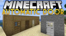 Automatic Door Mod for Minecraft 1.14.4/1.13.2