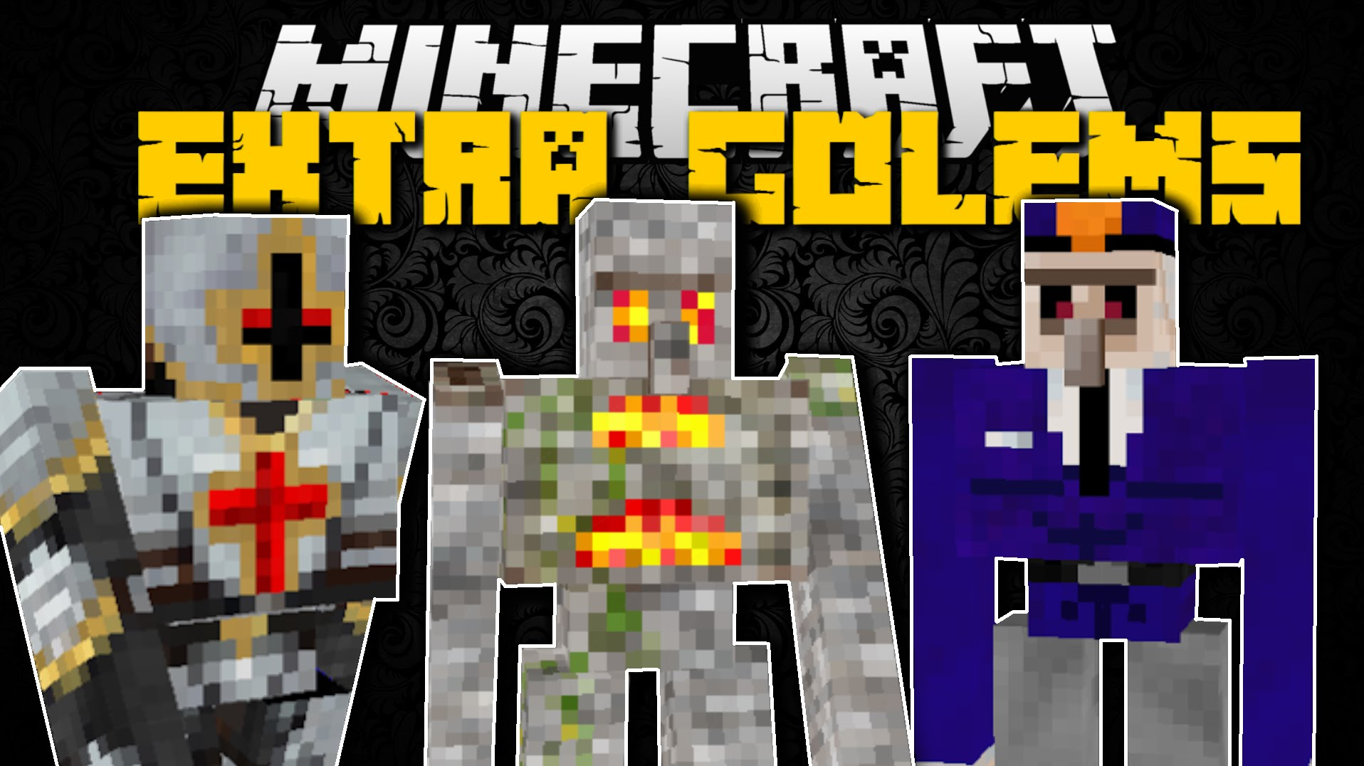 Mod Extra Golems for Minecraft 1.14.4/1.13.2