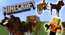 Mod Horse Carts for Minecraft 1.13.2/1.12.2