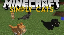 Mod Simply Cats for Minecraft 1.12.2