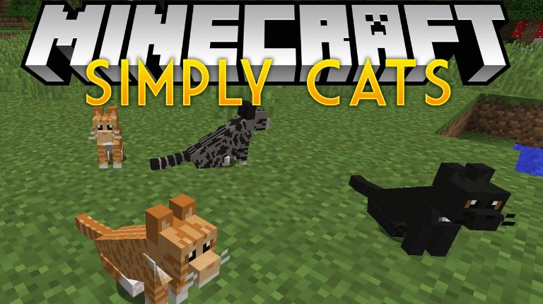Mod Simply Cats For Minecraft 1 12 2 Download Mods For Minecraft
