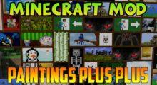 Subaraki's Paintings ++ Mod for Minecraft 1.14.4/1.12.2