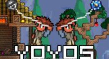 Mod Yoyos (Like Terraria) for Minecraft 1.14.4/1.14/1.12.2