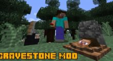 Gravestone Mod for Minecraft 1.14.4