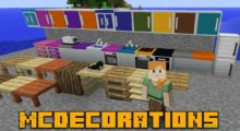 MCDecorations Mod for Minecraft 1.13.2/1.12.2