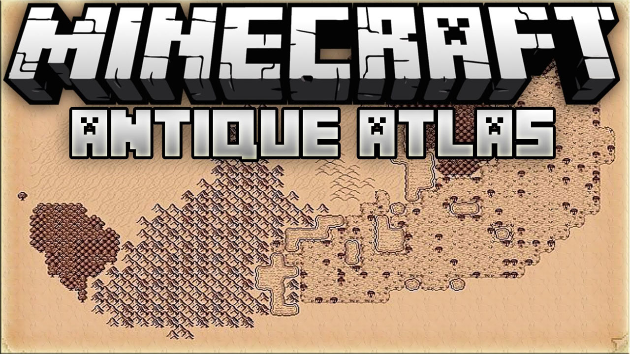 Antique Atlas Mod for Minecraft 1.14.4
