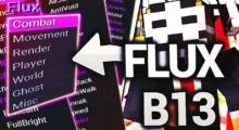 Flux B13 Hacked Client for Minecraft 1.14.4/1.14