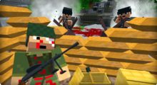 Mod Modern Warfare (13 new weapons) for Minecraft 1.12.2
