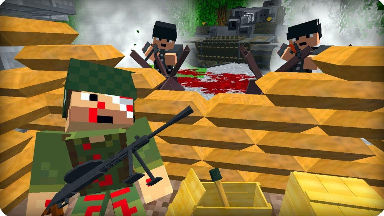 Modern Weapon mod Minecraft