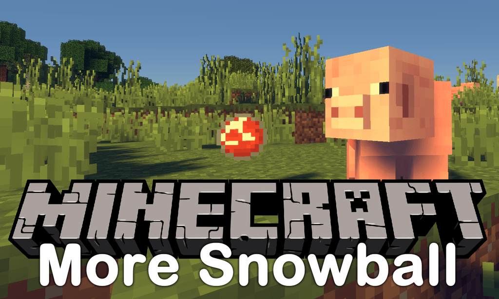 More Snowballs Mod for Minecraft 1.12.2