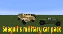 Seagull's military car pack Mod for Minecraft 1.12.2