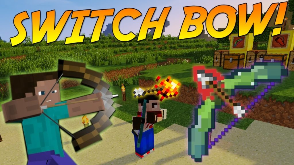 Switch Bow (More Bows) Mod for Minecraft 1 14 4/1 13 2 Download Mods for Minecraft