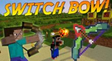 Switch Bow (More Bows) Mod for Minecraft 1.14.4/1.13.2
