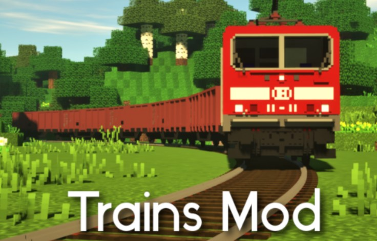 Trains Mod for Mineraft 1.13.2/1.12.2