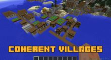 Coherent Villages Mod for Minecraft 1.12.2