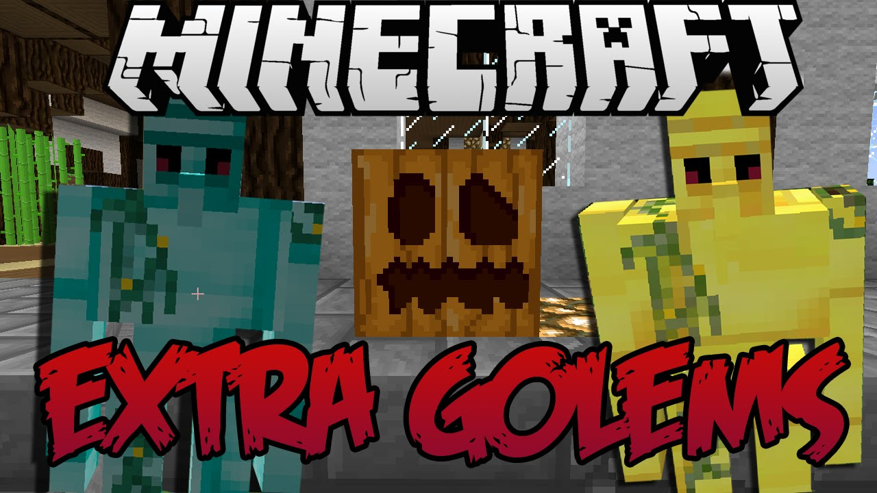 Extra Golems Mod for Minecraft 1.14.4